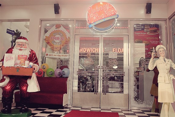 Johnny Rockets Facade