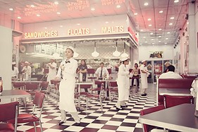 Dancing Johnny Rockets Staff